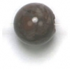 Semi-Precious 8mm Round Brown Agate